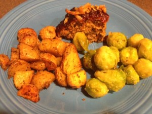 meatloaf-served