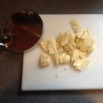 smashed garlic