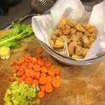 veggies and potatoes